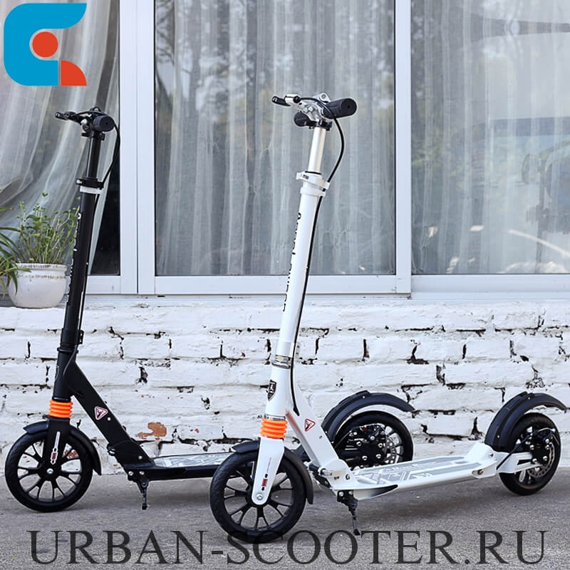 Городские самокаты с ручным дисковым тормозом Urban Scooter SR2-020