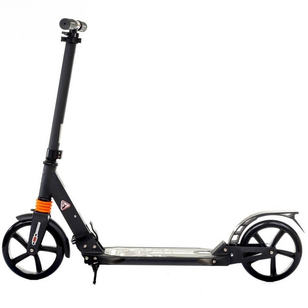 Urban Scooter City Чёрный - вид слева