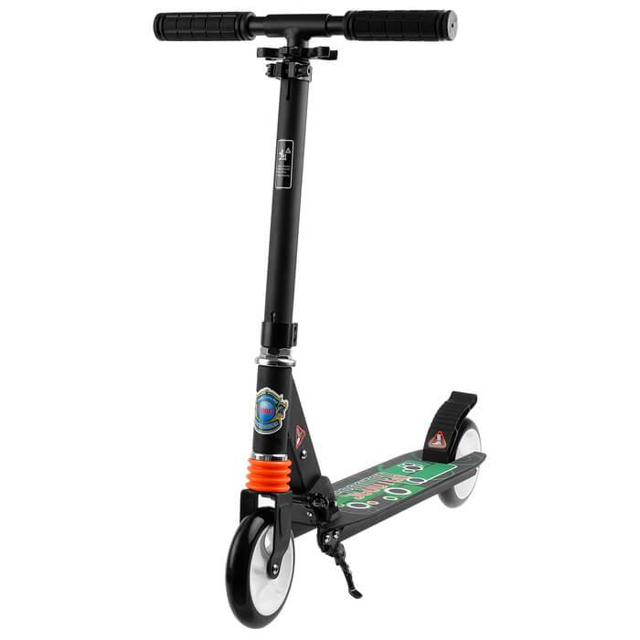 Детский двухколёсный самокат Urban Scooter Sport 145 Чёрный - 1